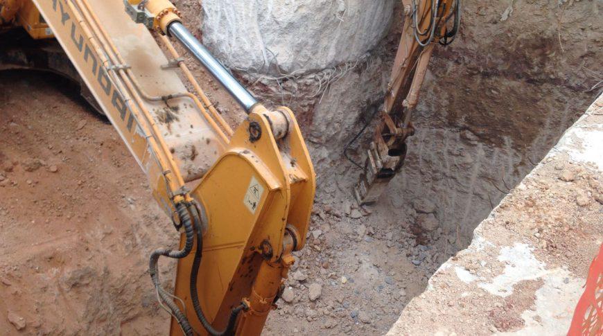 escavadoras